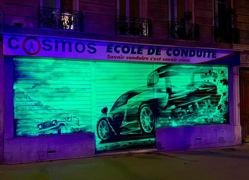XBox Launch Frescoes - Paris